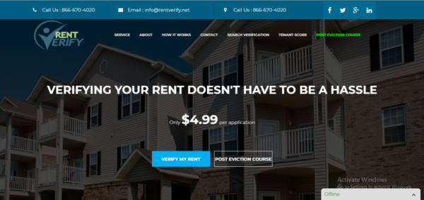 Verify My Rent