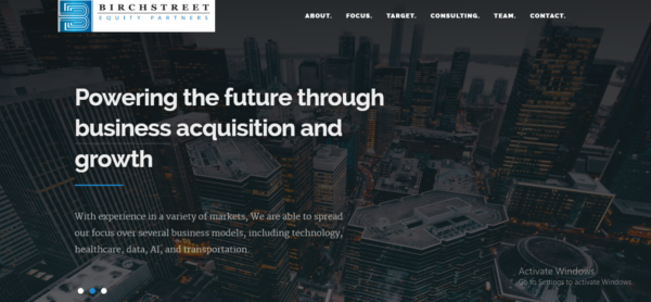 Birch Street Equity Partners